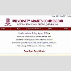 Nta Ugc Net 2019 Registration Starts From First March @ Ntanetnicin, Exam Date Pattern And