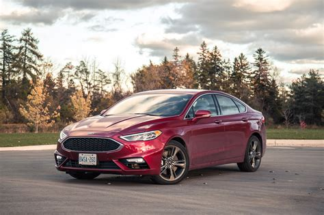 Review 2017 Ford Fusion V6 Sport Canadian Auto Review