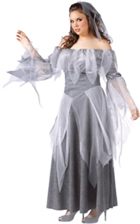 silver ghost ladies  size costume