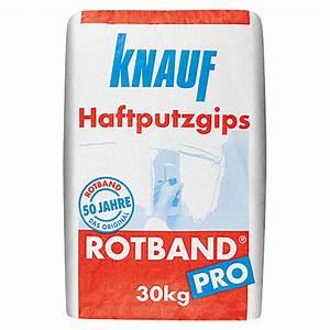 Knauf Sperrgrund Preis : knauf rotband haftputzgips proangebot bei bauhaus kw ~ Michelbontemps.com Haus und Dekorationen