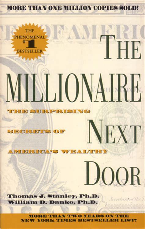 the millionaire next door summary financially fabulous book review the millionaire next door