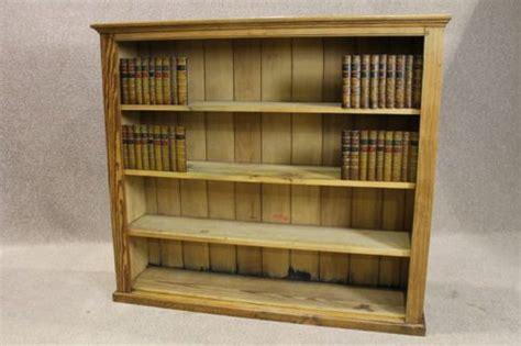 Antique Pine Bookcase by Pine Open Bookcase Antiques Atlas
