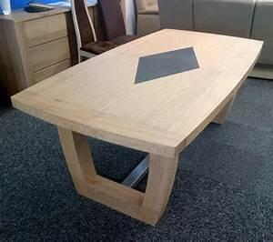 meubles salle a manger naxos en chene meubles bois massif With meuble salle À manger avec table salle a manger plateau bois