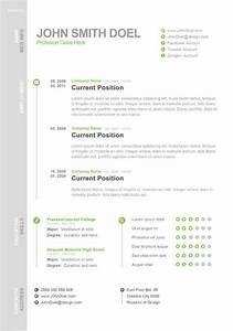 Cv Templates For It Professionals Free Digital Cv Resume Psd Template John Smith Doel Best