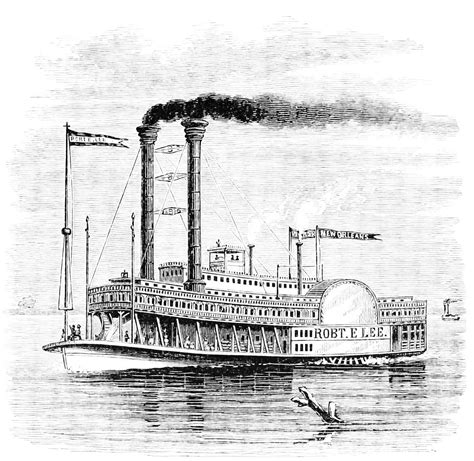 Barco De Vapor Invencion by Robert Fulton Was The Inventor Of The Steamboat In 1803