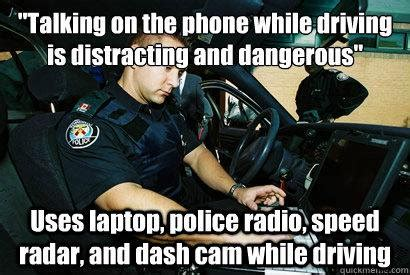 Funny Police Memes - they said fuck the police funny cops meme