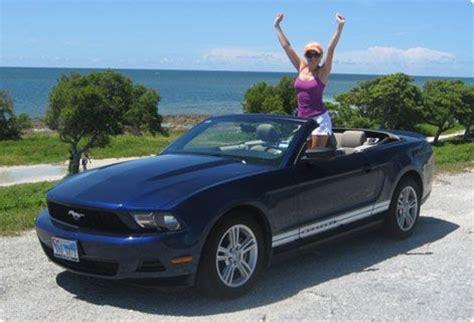 Car Rental Orange Fl by Cheap Car Hire Usa Ford Mustang Convertible Florida