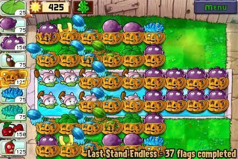 endless stand last zombies plants strategy vs setup cob wikia plantsvszombies