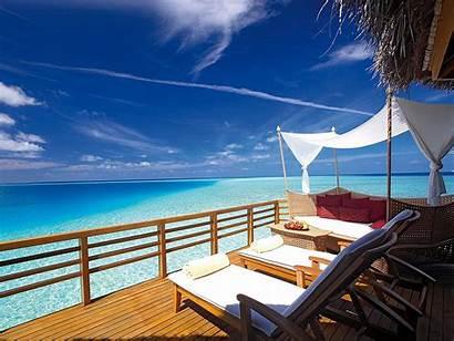 Deck Atoll Male Wallpapers Ocean Patio Baros