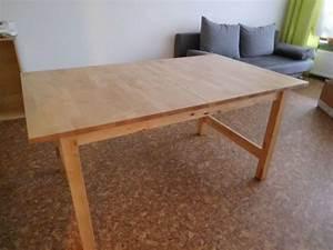 Tisch Norden Ikea : tisch ausziehbar massiv birke ikea norden 155 210 x 90 cm in f rth speisezimmer essecken ~ Orissabook.com Haus und Dekorationen