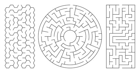 printable mazes  coloring pages  kids