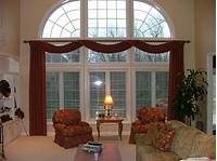 large window treatments Large Home Window Treatments
