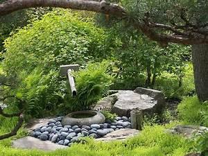 Utilisation de la pierre au jardin zen Jardins japonais