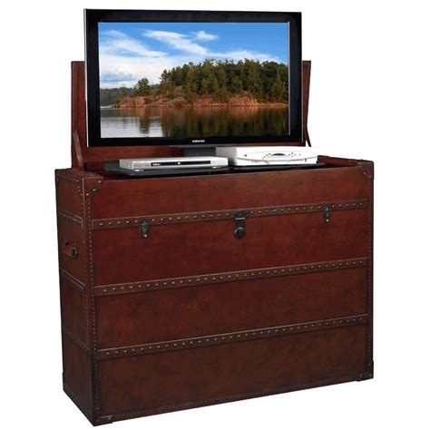 tv lifts cabinets tv lift cabinet at006197 antiquity lift for mid size