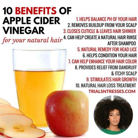 Apple Cider Vinegar Hair Benefits