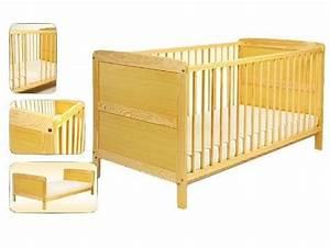 Babybett Zum Mitwachsen : babybett massiv umbaubar zum juniorbett bettset 70cm x 140cm matratze und himmelstange baby ~ Whattoseeinmadrid.com Haus und Dekorationen