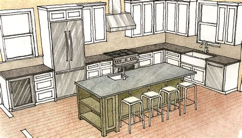 how to a kitchen island with seating multipurpose kitchen islands homebuilding