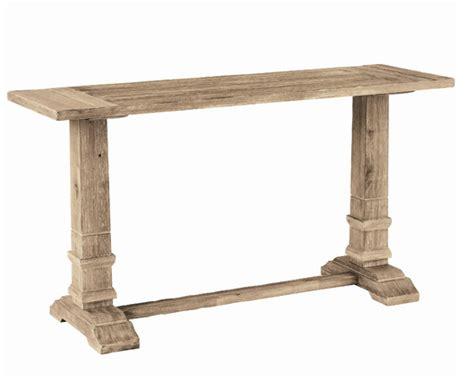 restoration hardware sofa table restoration hardware trestle console table decor look alikes