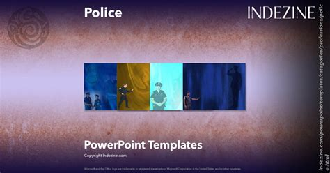 police powerpoint templates