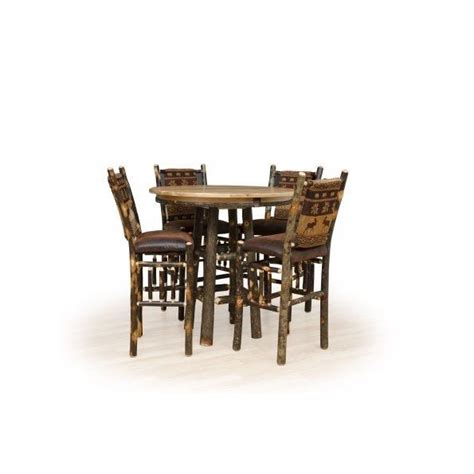 hickory pub table amish crafted furniture