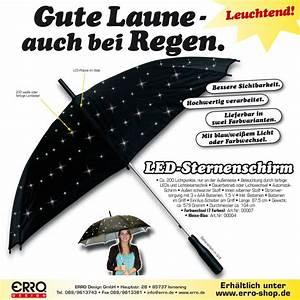 Regenschirm Mit Licht : led schirm wei leuchtender regenschirm ~ Kayakingforconservation.com Haus und Dekorationen