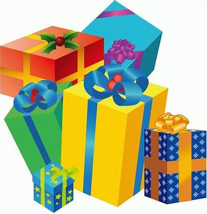 Gift Gifts Boxes Cartoon Box Cliparts Clipart