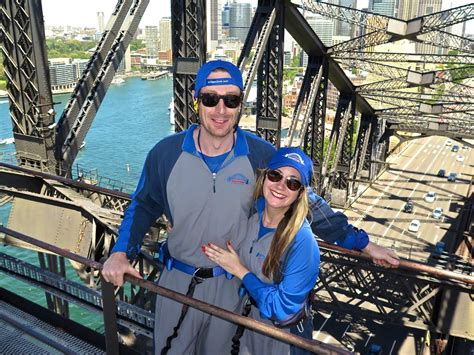 Climbing The Sydney Harbour Bridge With Fear Heights