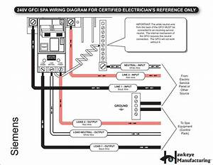 New Wiring Diagram Gfci Breaker  Diagram  Diagramsample