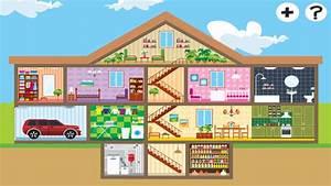 Piece De La Maison En Anglais : abc maison pour les enfants apprendre premiers mots et phrases en anglais dans l app store ~ Preciouscoupons.com Idées de Décoration