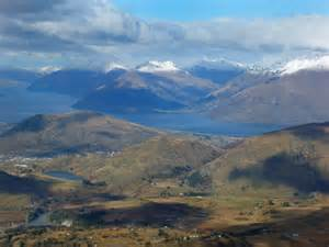 Snow Mountain Lake New Zealand