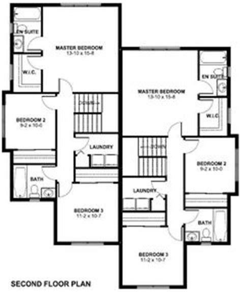 bedroom semi detached duplexes  smart cities duplex floor plans duplex plans house