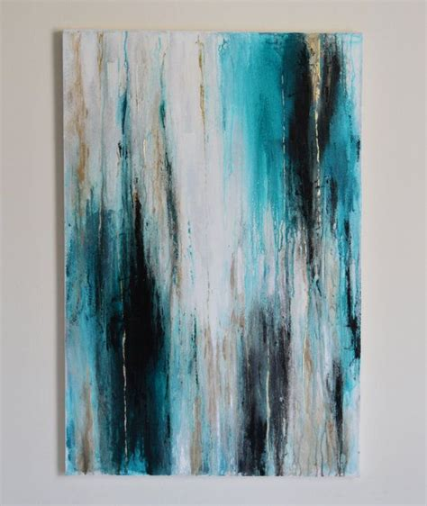 Abstract Black And Blue Painting by 1000 Images About Canvas Painting On Acrylics