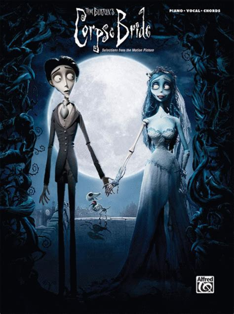 selections from the motion picture corpse bride sheet