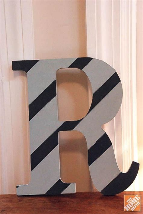 diy gift ideas decorated wooden letters  home depot wooden letters painting wooden