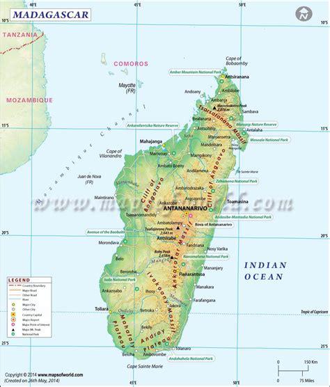 madagascar map maps   map  madagascar map