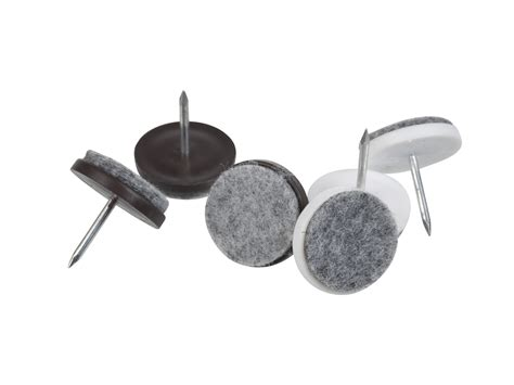 Floor Savers For Furniture by 24 Felt Laminate Floor Protectors Brown White Furniture