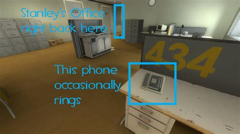 stanley parable  effect  answering  phone