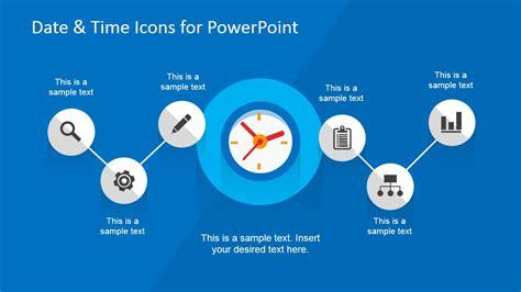 date time powerpoint  design slidemodel