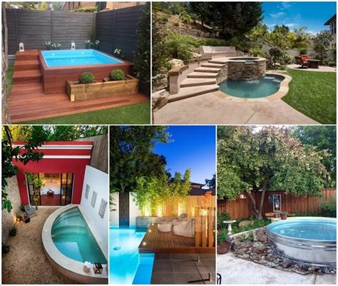 10 small pool designs for your garden universe
