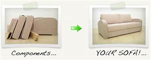 How to get a large sofa into your home blog nabru for Flat pack sofa bed