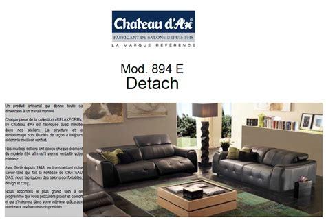 canapé relax 2 places cuir canapé relaxation modèle 894 e chateau d 39 ax marseille 13