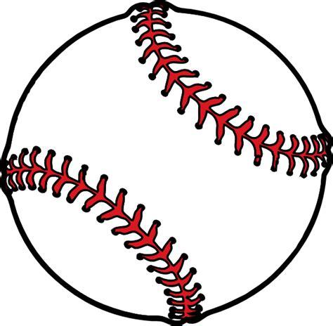 Baseball Thick Boarder Clip Art At Clkercom  Vector Clip
