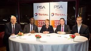 Groupe PSA e Total rinnovano la loro partnership storica ...