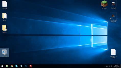 plus de corbeille sur le bureau windows 10 problème de positionnement des icônes sur le