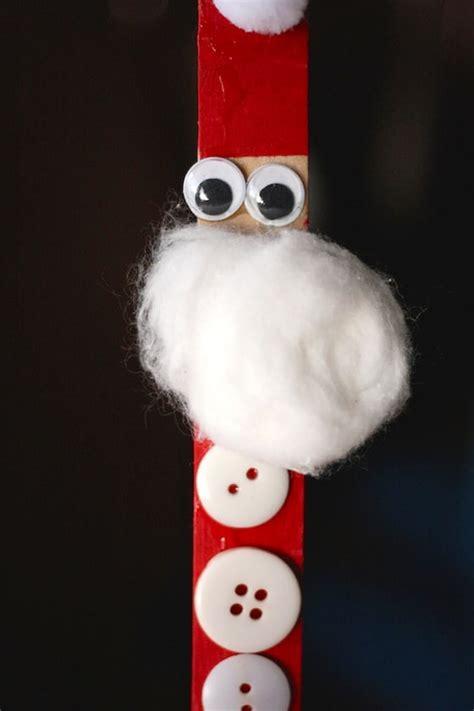 craft stick santa elf  reindeer happy hooligans