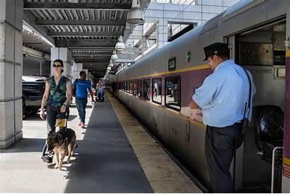 Station South Commuter Platform Rail Total Mbta
