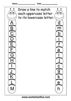 Letter Recognition Worksheets  Crna Cover Letter