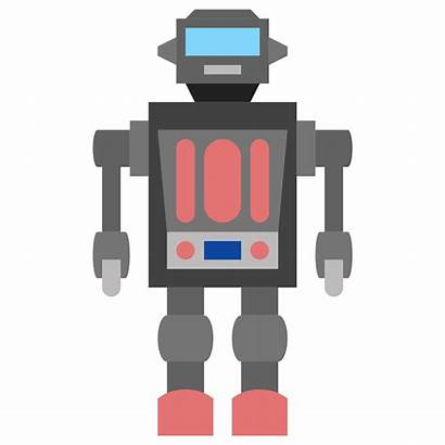 Robot Clipart Toy Icon Transparent Background Hustler