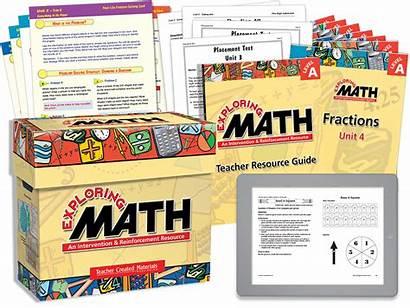 Math Exploring Materials Teacher Series Intervention Created