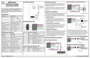Wiring Diagram To Maglock Iei Keypad